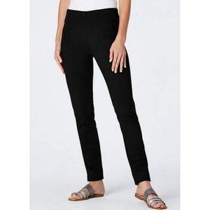 J.Jill Essentia Slim Ankle Ponte Knit Stretch Pant